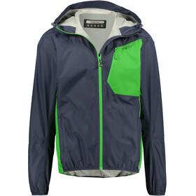 Meru Cromwell Waterproof 2,5 Layer Jacket Men Blue Nights/Online Lime
